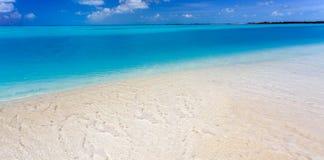 Tropical beach in Cayo Largo island Royalty Free Stock Photography