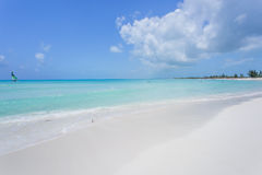 Tropical beach in Cayo Largo island Royalty Free Stock Images