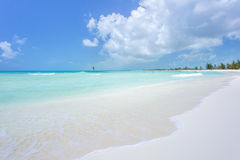 Tropical beach in Cayo Largo island Stock Photos