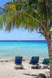 Tropical Beach With Clear Waters Royalty Free Stock Images