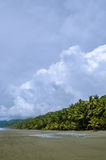 Tropical Beach - Costa Rica. Corcovado National Park - beach view, Osa Peninsula - Costa Rica Royalty Free Stock Photography