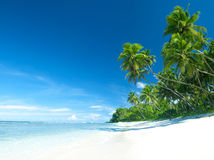 Tropical beach destination outdoors concept Royalty Free Stock Photo