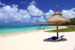Tropical beach in dream island Stock Images