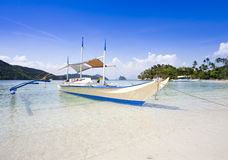 Tropical beach, El Nido, Palawan, Philippines Stock Photography