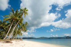 Tropical Beach, El Nido, Palawan, The Philippines Stock Photography