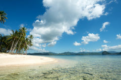 Tropical Beach in El Nido, Palawan, The Philippines Royalty Free Stock Images