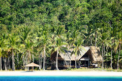 Tropical beach in El Nido, Philippines Royalty Free Stock Photography