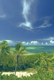 Tropical Beach-The Florida Keys In Summer Royalty Free Stock Photo