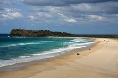 Tropical Beach - Fraser Island Stock Image
