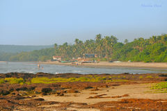 Tropical beach in GOA Royalty Free Stock Photography