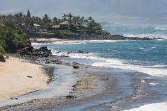 Tropical beach on Hawaii, USA. Stock Photos