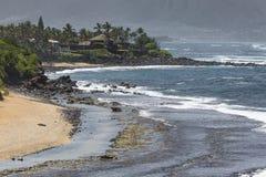 Tropical beach on Hawaii, USA. Royalty Free Stock Photography