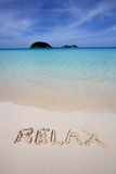 Tropical beach holiday Royalty Free Stock Photo