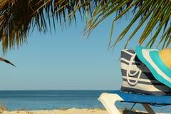 Tropical beach holiday Stock Photos