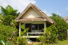 Tropical beach house Royalty Free Stock Photography