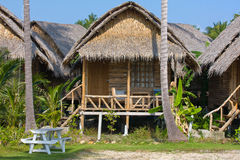 Tropical beach house Royalty Free Stock Photo