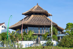 Tropical beach house in Bali, Indonesia Stock Images