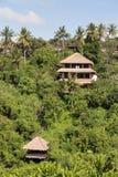 Tropical beach house.  Bali, Indonesia Stock Photos