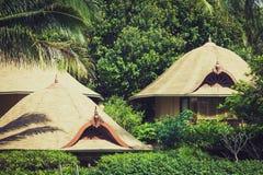 Tropical beach house on the island Koh Samui, Thailand Stock Photography