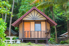 Tropical beach house Stock Photography