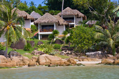 Tropical beach house , Thailand Stock Photos
