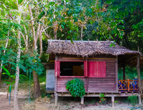 Tropical beach houses in Thailand. The tropical beach houses in the Thailand Royalty Free Stock Photography