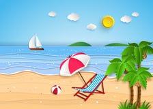 Tropical beach. Stock Photo