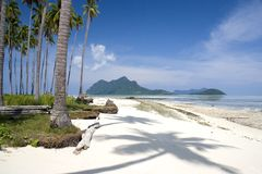 Tropical beach island Stock Images