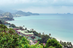 Tropical beach on the island of Koh Chang Royalty Free Stock Image