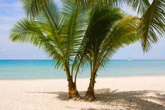 Tropical beach in island Koh Kood Royalty Free Stock Image