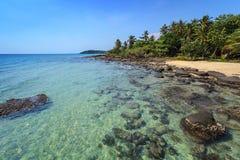 Tropical beach - Thailand Stock Photo