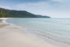 Tropical beach on koh kood island Royalty Free Stock Photos