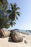 Tropical Beach at Koh Phangan Stock Photos