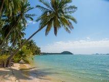 Tropical beach of Koh Samui island Royalty Free Stock Photo