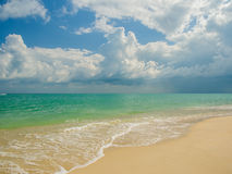 Tropical beach in Koh Samui Royalty Free Stock Photography