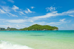 Tropical beach, Koh Samui, Thailand Stock Photos