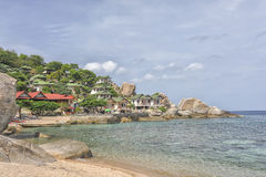 Tropical Beach Koh Tao, Thailand Royalty Free Stock Photography