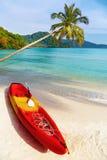 Tropical beach, Kood island, Thailand Stock Images