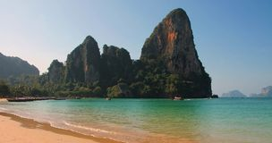 Tropical beach Krabi Thailand Stock Image
