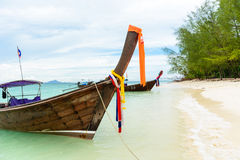 Tropical beach Krabi Thailand Royalty Free Stock Photo