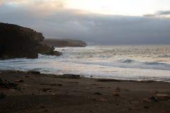 Tropical beach La Pared near Costa Calma at Fuerteventura, Canary Island, Spain Stock Photography