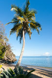 Tropical beach landscape Royalty Free Stock Photography