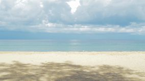 Tropical beach stock video