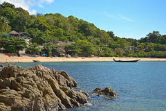 Tropical beach landscape Royalty Free Stock Images