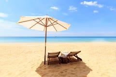 Tropical beach landscape Royalty Free Stock Photos