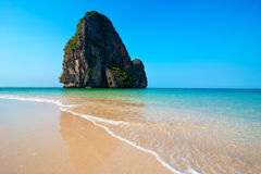 Tropical Beach Landscape. Thailand Royalty Free Stock Photo