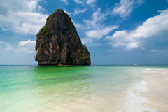 Tropical beach landscape. Thailand Royalty Free Stock Photos
