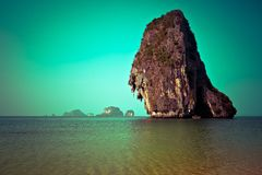 Tropical beach landscape. Thailand Stock Photos