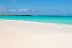 Tropical beach, los roques islands, venezuela Royalty Free Stock Photo