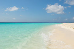 Tropical beach, los roques islands, venezuela Stock Photography